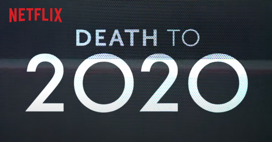 "Netflix เปิดตัว ""Death to 2020"" หนังตลกจากผู้สร้าง Black Mirror    ฝนตกเป็นหนัง"