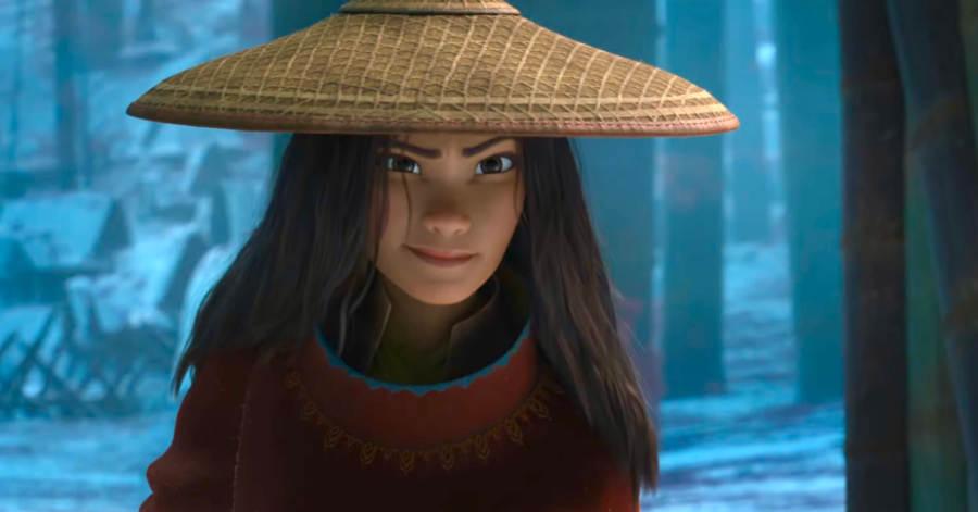 รายาตามหามังกรตัวสุดท้ายเพื่อช่วยโลก ในตัวอย่างเต็ม Raya and The Last Dragon    ฝนตกเป็นหนัง